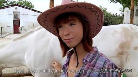 imagen Amateur cowgirl with beautiful booty fucking ou…