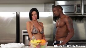 imagen Interracial analized milf riding stepsons BBC