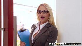 imagen Big Tits at Work –  Her First Big Sale scene st…