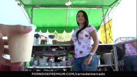 imagen CARNE DEL MERCADO – Sexy curvy Colombian Sara R…
