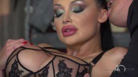 imagen Aletta Ocean – Black Leather Double Pleasure – …