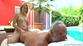 imagen Aria Logan and her much older friend – Grandpas Fuck Teens
