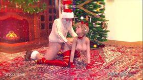 imagen Christmas futanari animation