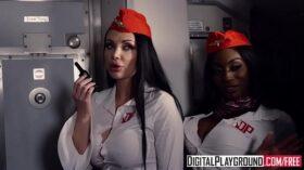 imagen DigitalPlayground – Fly Girls Final Payload Scene 2 (Aletta Ocean, Nicolette Shea, Axel Aces, Ryan Ryder)
