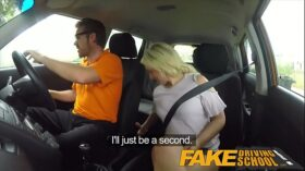 imagen Fake Driving School Sexual discount for big tits blonde Scottish babe