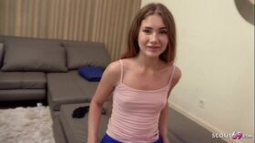 imagen GERMAN SCOUT – CUTE TEEN TALK TO EYE ROLLING ORGASM FUCK AT PICK UP CASTING
