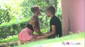 imagen 'Hey, want a blowjob overe there?' Violeta Cruz will blow any stranger in the park