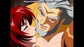 imagen Hot anime redhead enjoys sex toy